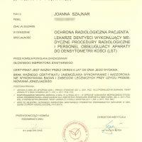 Certyfikat zdania egzaminu 2018/09/30