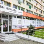 Fasada Centrum Medycznego Consilius w Stargardzie (do niedawna Szczecińskim)