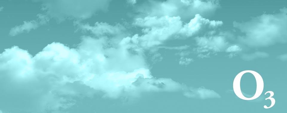 o3 - widok nieba z chmurami